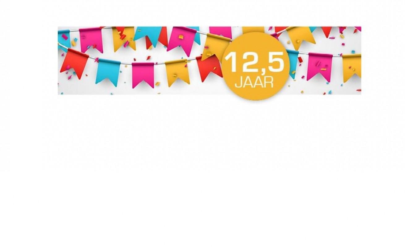 12 5 jarig jubileum